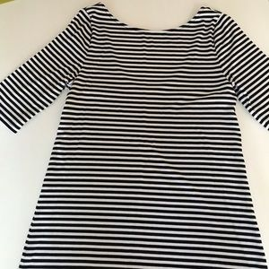 Old Navy Black Stripe women's top Size M